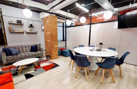 Sala de reunião para brainstorming