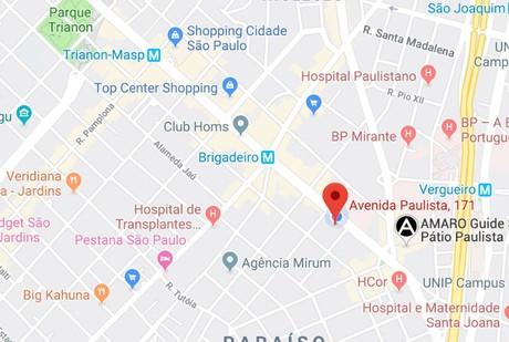 Escritorio Virtual Av Paulista - Mapa